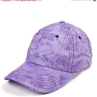 Christmas in July - Purple Baseball Cap - Purple Womens Cap - Purple Cap - Purple Hat - Ladies Purple Cap - Baseball Caps For Women