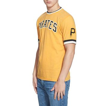 Pittsburgh Pirates- Arch Logo Adult Jersey T-Shirt