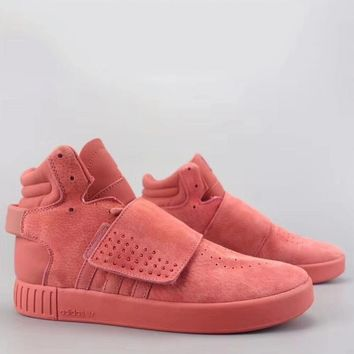Adidas Tubular Invader Strap Fashion Casual High-Top Old Skool Shoes-13