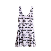 Iron Fist - Shady White Juniors Dress