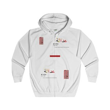 JOE (Justice or Else) Reminder Hoodie Zip up hoodie