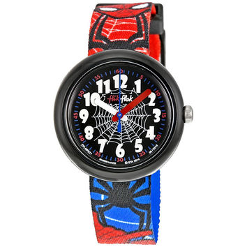 Swatch ZFLNP021 Spiderman Men's Quartz Watch