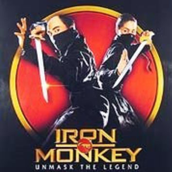 Iron Monkey Unmask The Legend Movie Poster 27x40 Used Quentin Tarantino