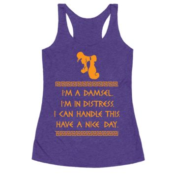 I CAN HANDLE THIS RACERBACK TANK