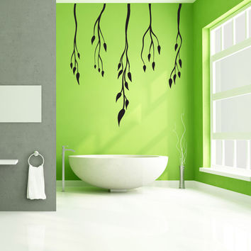 Vinyl Wall Decal Sticker Dangling Vines #OS_MB1046