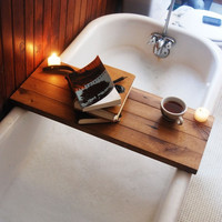 Tub Caddy-A Beautiful Gift For a Bookworm