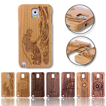 Wood Case For Samsung Galaxy Note and Edge