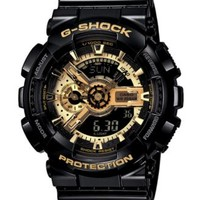 G-Shock Men's Analog Digital Black Resin Strap Watch GA110GB-1A - Watches - Jewelry & Watches - Macy's