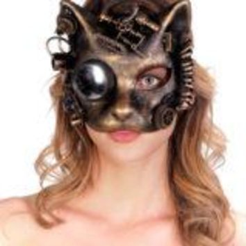 Mechanical Cat Mask