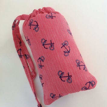 Cute Anchor SCENTED Pipe Pouch Small