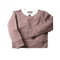 Mathilde Collar Sweatshirt - New Arrivals