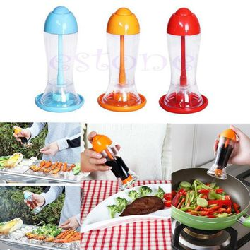 DCCKL72 E74  Kitchen Tool Leakproof Spray Oil Soy Bottle Sauce Vinegar Dispenser Cooking BBQ