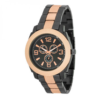 Men's Chronograph Metal Watch - Rose