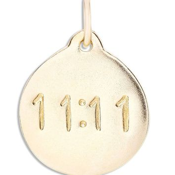 """11:11"" Disk Charm"
