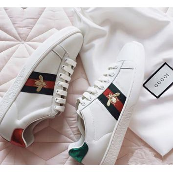 Gucci:Trending Fashion Casual Sports Shoes Women Men Shoes