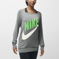 Nike Store. Nike Logo Long-Sleeve Women's Top
