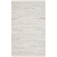 Safavieh Rag White Contemporary Rug