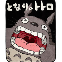 Studio Ghibli My Neighbor Totoro Throw Blanket