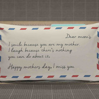 Mothers Day Gift Pillow Cases rectangle pillow case, pillow cover, cute and awesome rectangle pillow covers