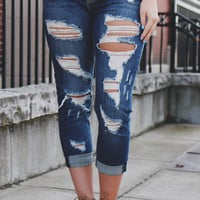 Road Trippin' Cropped Denim