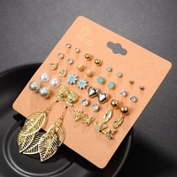 Earring Set of 20 Pairs