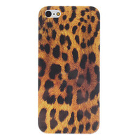 Leopard Pattern Hard Case for iPhone 5
