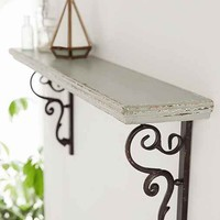 Audrey Claire Shelf- White One