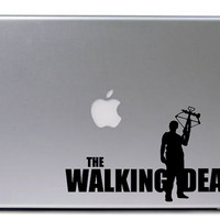 Walking Dead Decal / Daryl Dixon Decal / Macbook Decal / Laptop Decal / Car Decal