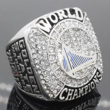 """SPORTS RING * 2017 GOLDEN STATE """"WARRIORS"""" WORLD * CHAMPIONS/ shipping from USA"""