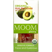 Organic Hair removal Kit with Avocado for Face and Eyebrows