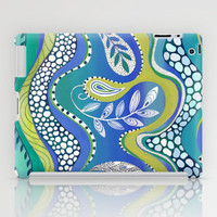 Patterned Nature 2 iPad Case by Janet Broxon
