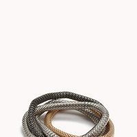 Twisted Link Stretch Bracelet