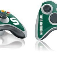 Skinit Michigan State University S Vinyl Skin for 1 Microsoft Xbox 360 Wireless Controller
