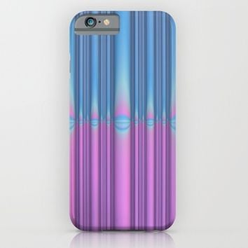 Blue Flame, Pink Flame iPhone & iPod Case by Lyle Hatch