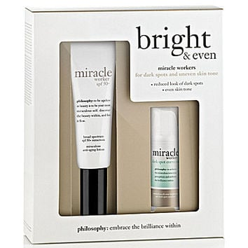 philosophy bright & even set