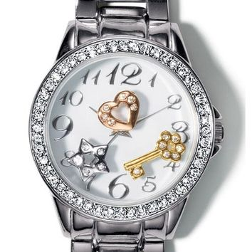 FOREVER selected by Paula Abdul Sparkling Charms Watch