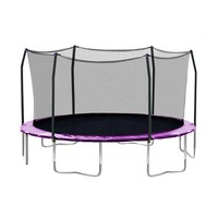 Skywalker 17-ft. Oval Trampoline with Enclosure (Purple)