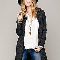 Free People  Loch Raven Sweater Jacket at Free People Clothing Boutique