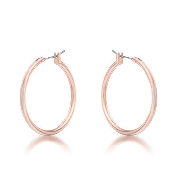30mm Small Rosegold Hoop Earrings