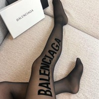 Balenciaga Black Tights