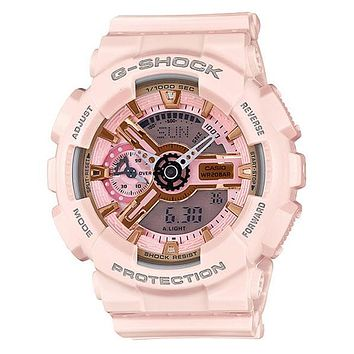 Casio G-Shock S Series - Light Pink & Rose Gold-Tone - Magnetic Resistant