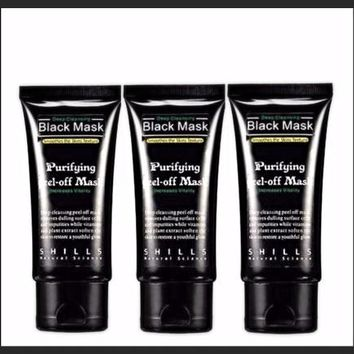 3x For The Price Of 2 - Activated Charcoal Face Mask Peel Off - Deep Cleansing - Blackhead Remover