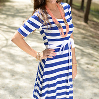 By The Bay Dress, Blue