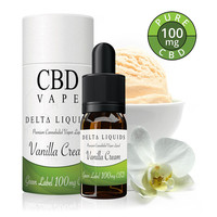 Vanilla CBD E-Liquid (CBD Green Label)