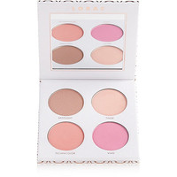 Cue the Confetti Highlighter & Blush Palette with Brush