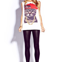 Street-Style Kitty Tee | FOREVER 21 - 2000076214
