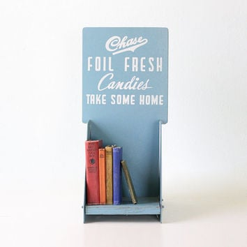 Vintage Candy Display Stand, Chase Candies