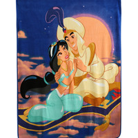 Disney Aladdin Jasmine Micro Raschel Throw