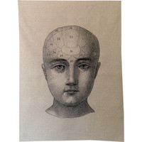 Phrenology Towel
