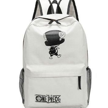 Japanese Anime Bag  One Piece Cosplay Male and female students campus fashion cute leisure large capacity backpack AT_59_4